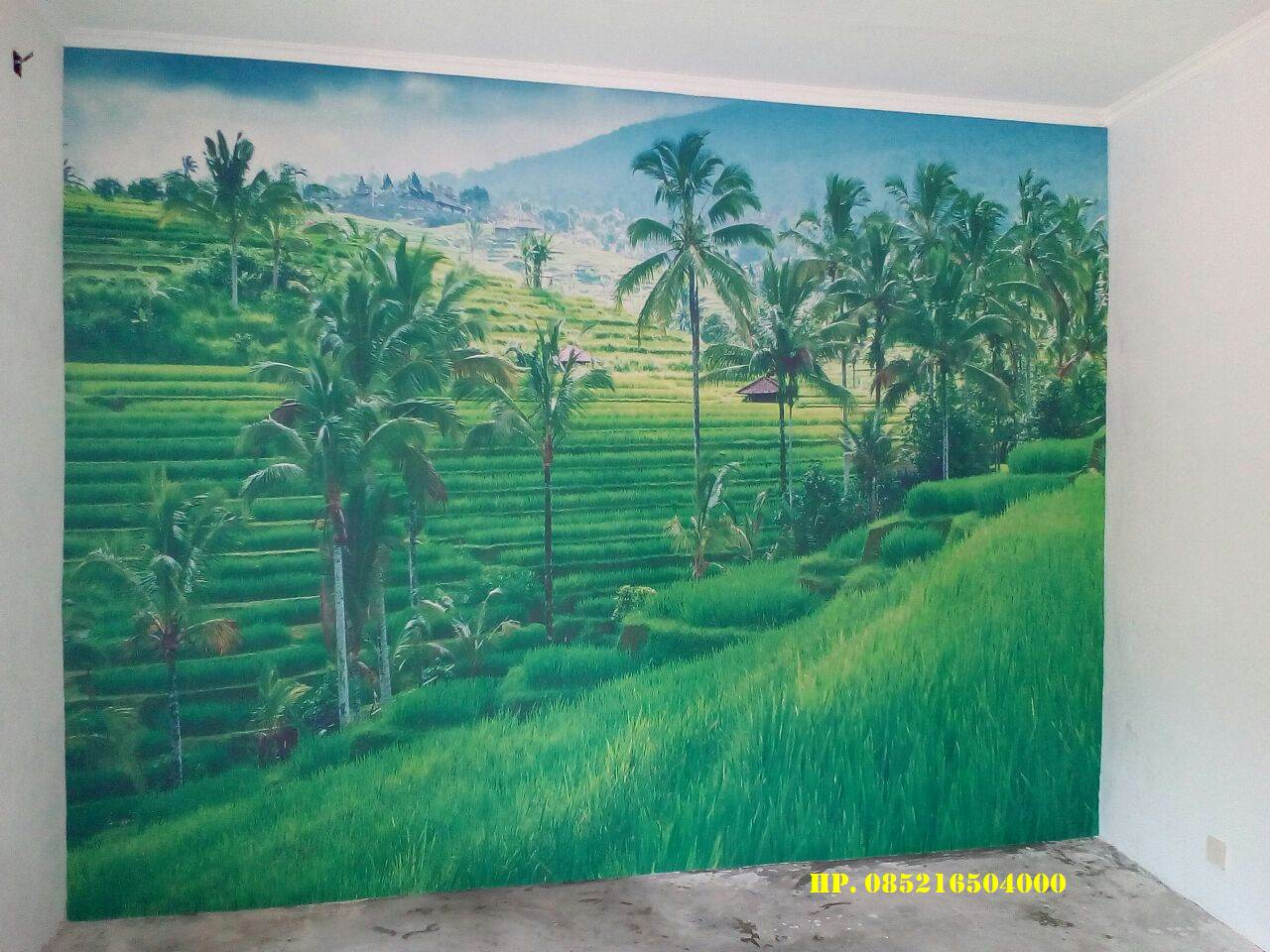 Distributor Wallpaper Dinding Custom